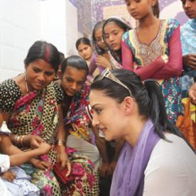 The Good Wife's Archie Panjabi Is Making Polio Immunization and Preventative Care Her Mission