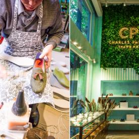 Watch Cobblers Make Your Own Customizable Shoes at Designer Charles Philip's New Flagship Store