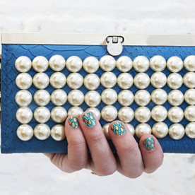 DIY It Tonight! Make a Pearl Clutch in 3 Easy Steps