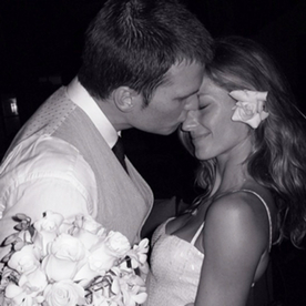 Photo of the Day: A Sneak Peek At Gisele Bundchen and Tom Brady's Wedding Five Years Ago