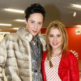 From the Olympics to the Oscars: Johnny Weir and Tara Lipinski Are Headed For Hollywood
