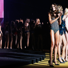 Eric Wilson's Front Row Diary:  Ooh La La! #PFW Kicks Off With More Naked Backsides Than a Burlesque Club