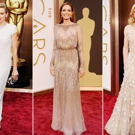 Trend Alert: Stars Stun In Beaded Gowns On the Oscars Red Carpet