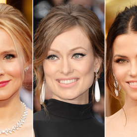 Oscars 2014 Hair Trend: Stars Traded Over-Coiffed Updos for Undone, Prom-Esque Styles