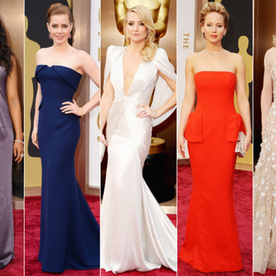 Pick Your Five Favorite Looks From the 2014 Oscars with Our A-List Tool