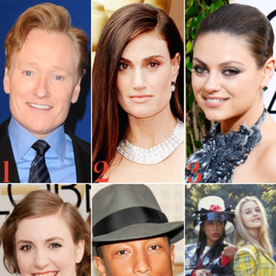 Conan O'Brien Will Host the MTV Movie Awards, Idina Menzel and Jimmy Fallon Sing Frozen's 'Let it Go,' and More