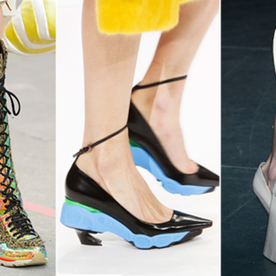 This Week's Wow:  The Fashion Industry Shows Off a Few Shoes Women Will Actually Love to Walk In