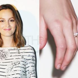Big Photo For a Big Rock: Your First Look at Leighton Meester's Engagement Ring