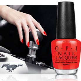 OPI & Ford Team Up for Mustang-Inspired Nail Colors