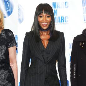 Stars March (in Heels!) to End Violence Against Women In Honor Of International Women's Day