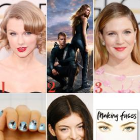 Taylor Swift Tops a New Kind of Chart, See Divergent Costume Sketches, and More