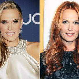 How Does Molly Sims Keep Her Red Hair So Vibrant? (Hint: It's Done Pre-Shampoo)