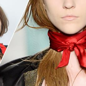 GIF Guide: Tie a Neck Scarf, Inspired By Marc by Marc Jacobs