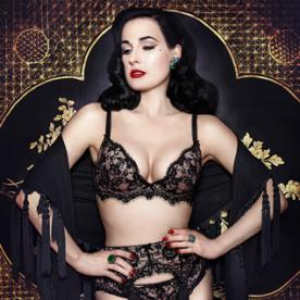 Bring Some 1950s Glamour to Your Boudoir with Dita Von Teese's Lingerie Collection