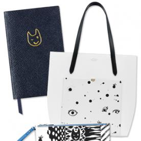 Swoon: Classic Smythson Gets Arty With Its Quentin Jones Collaboration