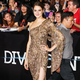 "Shailene Woodley on Her ""Hippie Goddess"" Look from Last Night's Divergent Premiere"