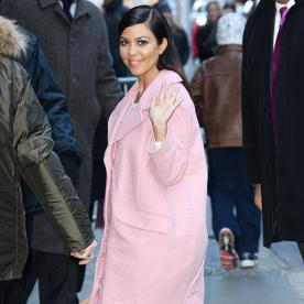 Kourtney Kardashian Has Us Thinking (Pale) Pink