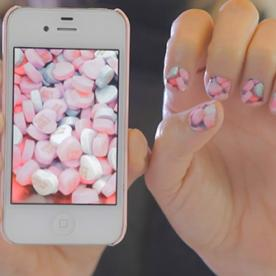 Snaps! #NailArt Imitates Life With These Instagram Photo Manis