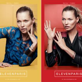 C'est Chic! Kate Moss Teams With French Fashion Darling ElevenParis