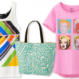 Masterpiece! Uniqlo Turns Famous Art Into Fun Tees, Available Today