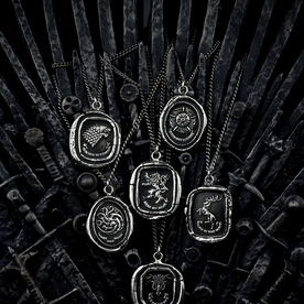 Pledge Your Allegiance To Your Fave Westeros House With the Official Game of Thrones Jewelry Collection