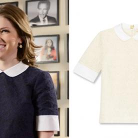 Anna Kendrick Wears Tory Burch for Her SNL Promo Video, and We Found It!