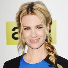 Go Bold or Go Home! How to Get January Jones' Two-Toned Cat Eye