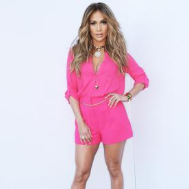 This Just In: Jennifer Lopez Looks Phenomenal in a Neon Onesie