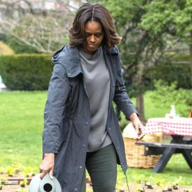Found It! Get Michelle Obama's Softly Faded Jean Leggings