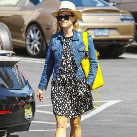 Found It! Reese Witherspoon's Yellow Purse