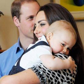 Prince George and His Chubby Cheeks: 13 Photos of the Cutest Baby Ever