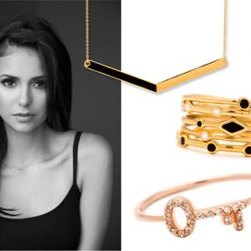 Nina Dobrev Teams Up With Gorjana Jewelry For a Good Cause