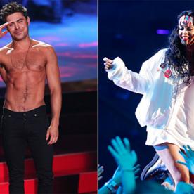 Our Favorite MTV Movie Awards Moments (Rihanna and Eminem's 'Monster' Performance, Zac Efron's Shirtless Appearance, and More)