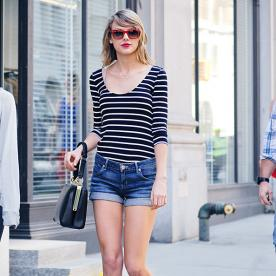 Found It! Taylor Swift's Classic Jean Shorts