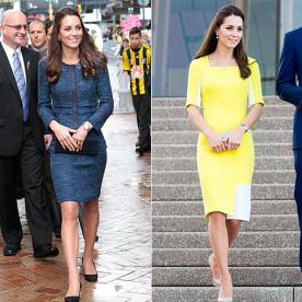 Kate Middleton Does an In-Flight Outfit Swap, Landing in Sydney in a Vibrant Yellow Frock
