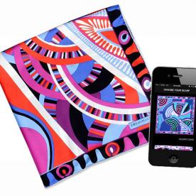 Emilio Pucci's First App Introduces a New Kind of #Selfie