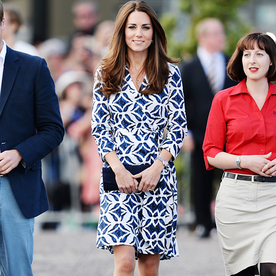 Apparently We're Not the Only Ones Who Loved Kate's Ikat Printed Wrap Dress