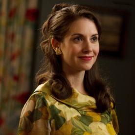 Only On InStyle! Mad Men's Alison Brie Spills the Details On Trudy Campbell's Transformation