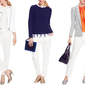 Three Ways to Wear White Pants