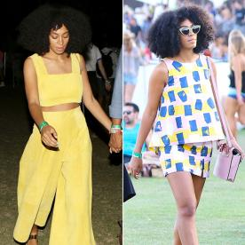 The Secret to Solange Knowles' Coachella Style? Matching Separates