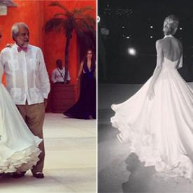 Mary Katrantzou's First Wedding Gown Is Perfection