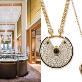 #RocksMyWorld: Cartier's Stunning Amulette Collection and Sparkling New Boutique