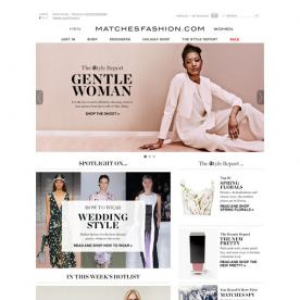 Love at First Site: Matches Fashion Takes Designer Shopping to a Whole New Level