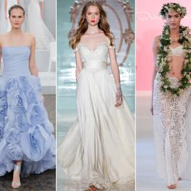 Bridal A-List: Tell Us Your 5 Favorite Looks From Bridal Fashion Week