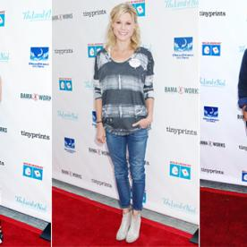 Hollywood Moms (and Dads!) Celebrate Their Little Ones at the Milk + Bookies Event
