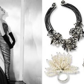 Miriam Haskell's Charles James-Inspired Jewelry Will Jazz Up Your Evening Ensemble