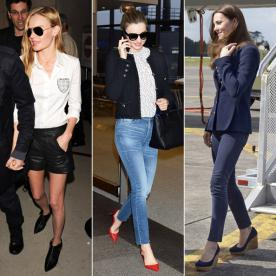 Jet-Set Style: 39 Celebrity-Inspired Looks to Wear on the Plane