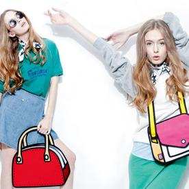 Comic Relief: Check Out These Wearable Cartoon Bags From JumpFromPaper!