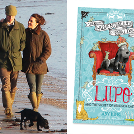 Prince William and Kate Middleton's Dog, Lupo, to Star in His Own Children's Book