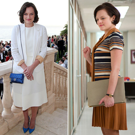 Elisabeth Moss Reveals Her Love for Wearing Polyester on Mad Men